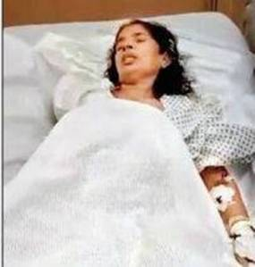 Kasthuri Munirathnam was in a critical condition after her Muslim employer in Saudi Arabia chopped off her right arm.